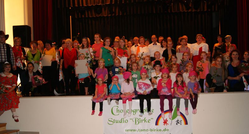 "Studiogala 20 Jahre Choreographie-Studio ""Birke"""