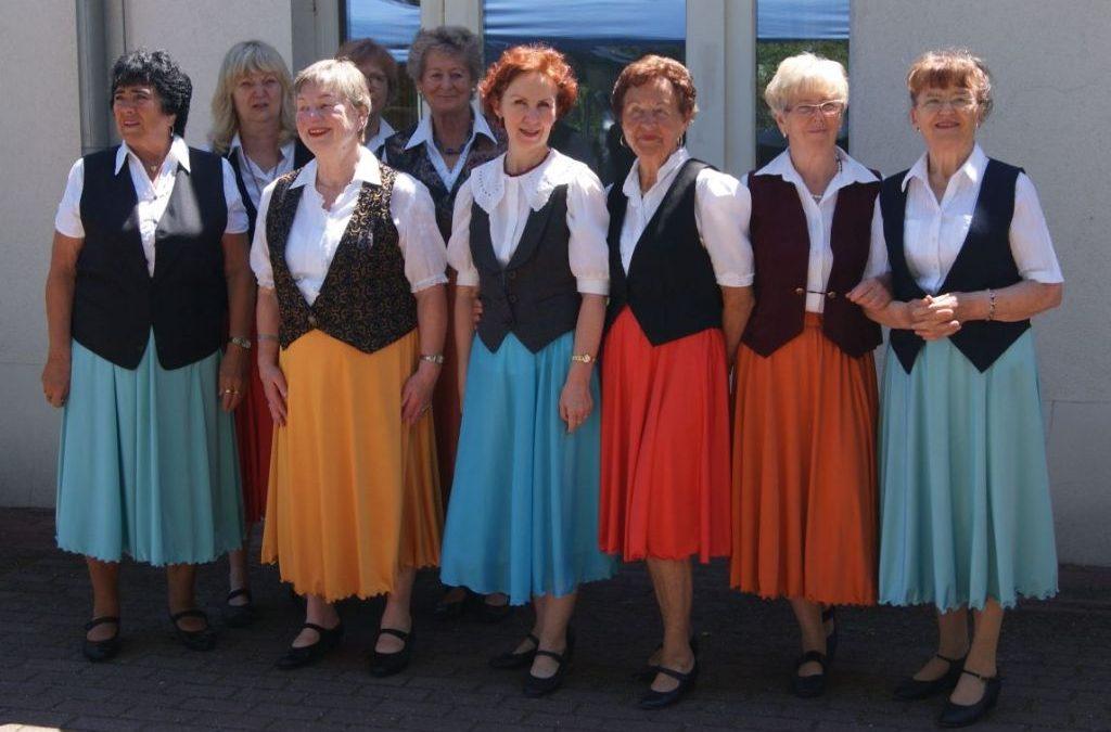 Auftritt im Seniorenheim Velten beim Sommerfest 18. Juni 2017