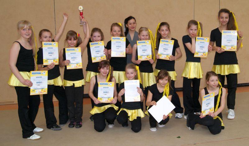 1. Platz beim Tanzfestival Bernau 2011