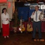 Tanzstudio Weihnachtsfeier 2008
