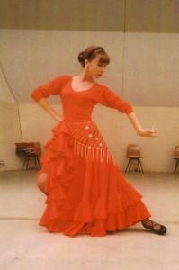 Flamenco Tanz bei Katharina Baimler