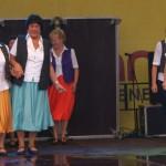 Seniorentanz beim Stadtfest Hennigsdorf