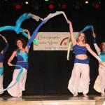 Tanz mit Fächerschleiern