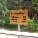 Radtour Friedrichsthal Malz Grabowseebrücke