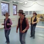 Country Dance beim Tag der Offenen Tür
