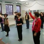 Line Dance Mitmachtanz beim Tag der Offenen Tür im Tanzstudio