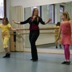 Orientalischer Tanz für Kinder beim Tag der Offenen Tür im Tanzstudio