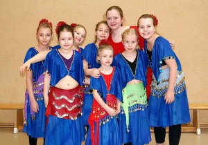 Wüstenblumen beim 8. Tanzfestival Bernau