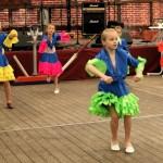 Kindertanz in Birkenwerder - Auftritt beim Birkenfest 2012