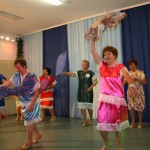 Herbst Rosen Hausfrauentanz Samba Senioren tanzen