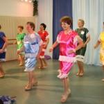 Herbst Rosen tanzen Samba