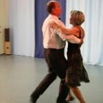 Paartanz Paar tanzen Foxtrott Disco