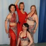 Tanzlehrerinnen des Tanzstudios