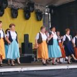 Seniorentanz beim Stadtfest Hennigsdorf 2012