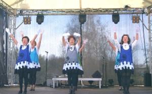 Herbst Rosen Seniorentanz Auftritt in Oranienburg