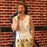 Tanzauftritt beim Birkenfest: Moderation Elena Wähnert