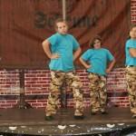 Tanzgruppen beim Tanzauftritt in Birkenwerder