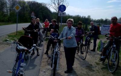 Radtour nach Sommerswalde April 2015