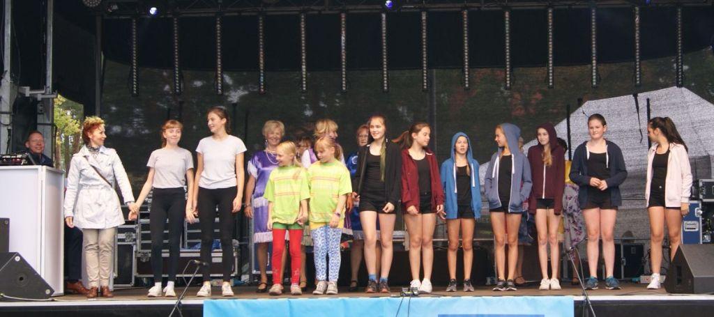 Auftritt beim Herbstfest 2017 Hohen Neuendorf