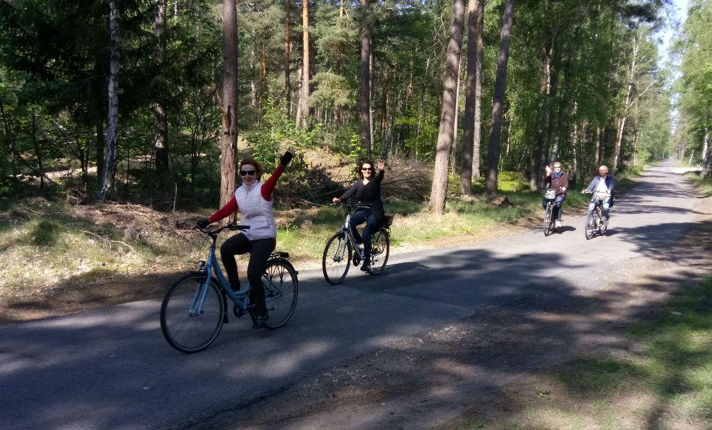 Radtour mit Wanderung