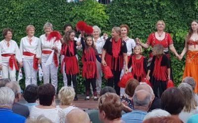 Auftritt beim Rathausfest am 24.08.2019 in Birkenwerder