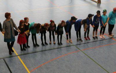 Auftritt beim Sportfest der Sportgemeinschaft Hohen Neuendorf